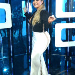 WORST: Chiquis didn't keep with the throwback theme at Premios Juventud 2016. (Univision/GettyImages)