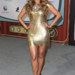 BEST: Galilea Montijo went back to the Studio 54 days with this outfit. (Univision/GettyImages)