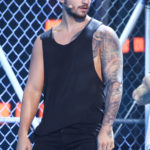 Maluma rehearses for Premios Juventud 2016 (Univision/GettyImages)